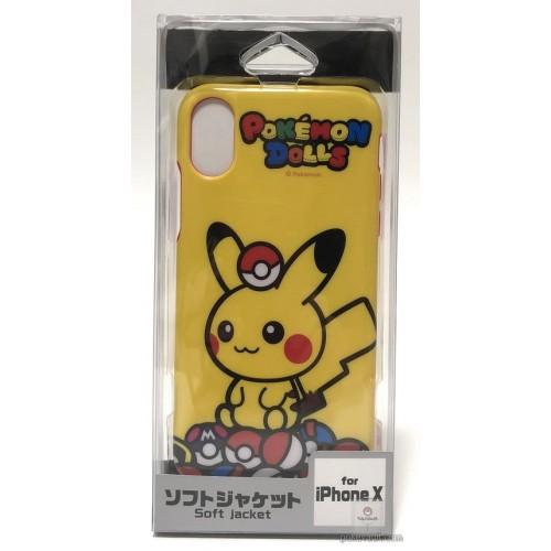Pokemon Center 2018 Pokedolls Campaign Pikachu iPhone X Mobile Phone Soft Cover