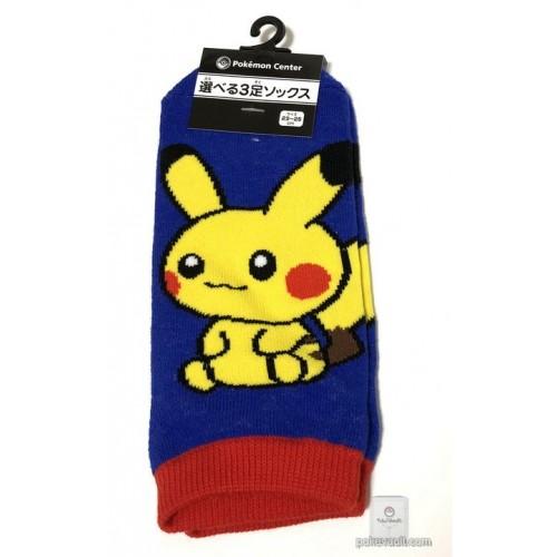 Pokemon Center 2018 Pokedolls Campaign Pikachu Adult Short Socks (Size 23-25cm)