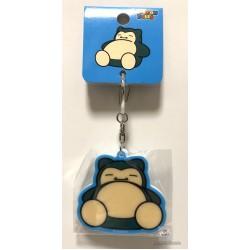 Pokemon Center 2018 Pokedolls Campaign Snorlax Acrylic Plastic Keychain