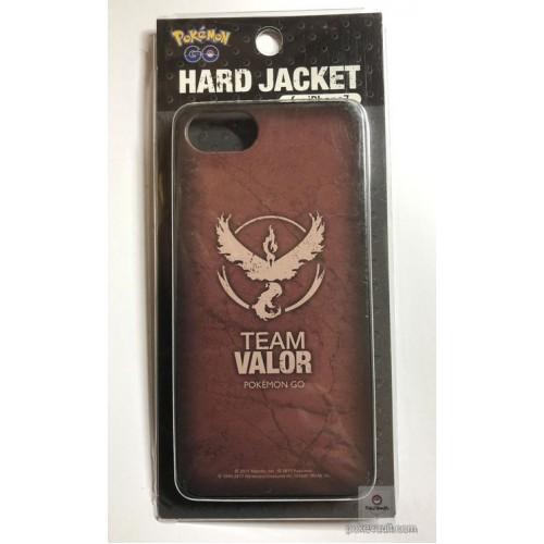 Pokemon Center 2017 Pokemon Go Team Valor Moltres iPhone 7 Mobile Phone Clear Hard Cover