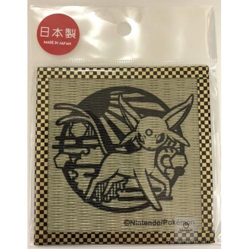 Pokemon Center 2018 Kirie Paper Cutout Campaign Espeon Tatami Drink Coaster