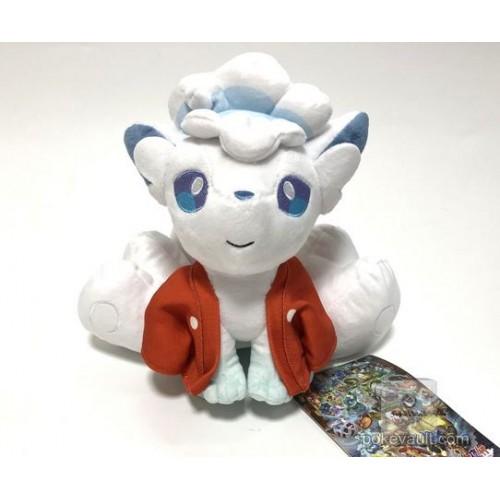 Pokemon Center 2018 Hyaku Poke Yako Campaign Alolan Vulpix Plush Toy