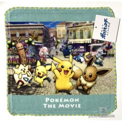Pokemon Center 2018 Togepi Pikachu Eevee & Friends Movie Version Mini Hand Towel