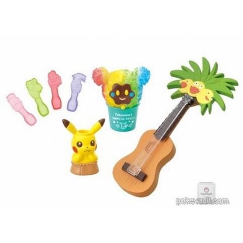 Pokemon Center 2018 Pokemon's Tropical Sweets Campaign Cosmog Exeggutor Pikachu Figure (Version #6 Shave Ice)