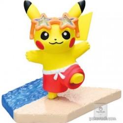 Pokemon Center 2018 Pikachu Seaside Series Pikachu Figure (Version #3 Sunglasses)