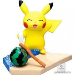 Pokemon Center 2018 Pikachu Seaside Series Pikachu Figure (Version #5 Great!)