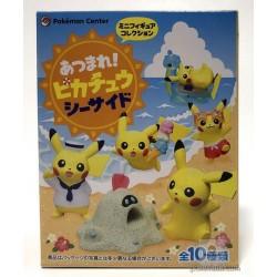 Pokemon Center 2018 Pikachu Seaside Series Pikachu Figure (Version #10 Sand Bath)