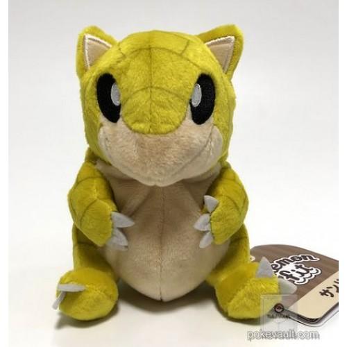 Pokemon Center 2018 Pokemon Fit Series #1 Sandshrew Small Plush Toy