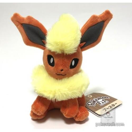Pokemon Center 2018 Pokemon Fit Series #1 Flareon Small Plush Toy