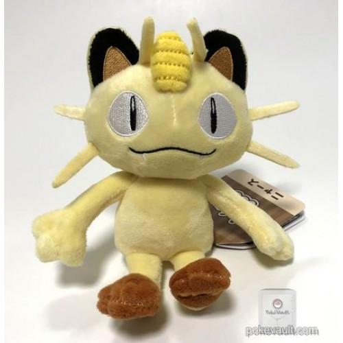 Pokemon Center 2018 Pokemon Fit Series #1 Meowth Small Plush Toy