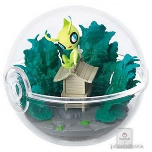 Pokemon Center 2018 Re-Ment Terrarium Collection Series #3 Celebi Figure (Version #6)