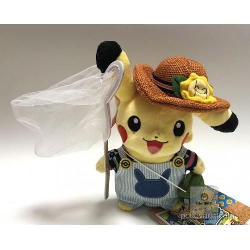 Pokemon Center 2018 Pokemon Summer Life Campaign Pikachu (Boy) Plush Toy