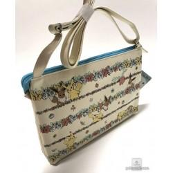 Pokemon Center 2018 7 Days Story Campaign Pikachu Eevee Hoppip Cutiefly Shoulder Bag