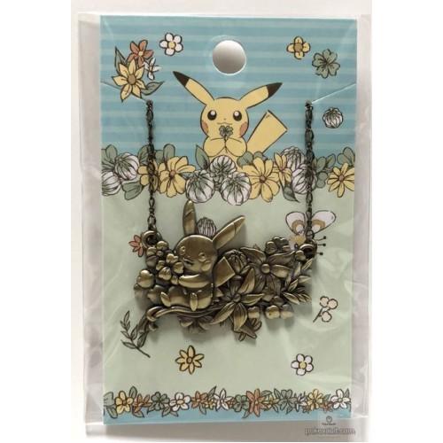 Pokemon Center 2018 7 Days Story Campaign Pikachu One Point Style Pendant Necklace