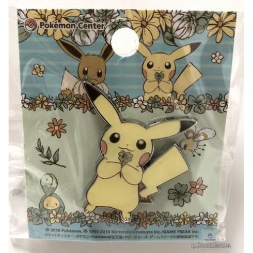 Pokemon Center 2018 7 Days Story Campaign Pikachu Pin Badge (Version #6)