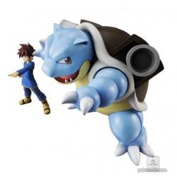 Pokemon Center 2018 G.E.M. Blastoise Green Figure