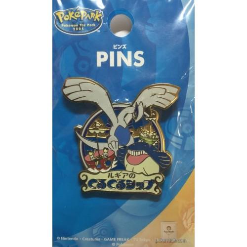 Pokemon 2005 PokePark Lugia's Spinning Ship Pin Badge