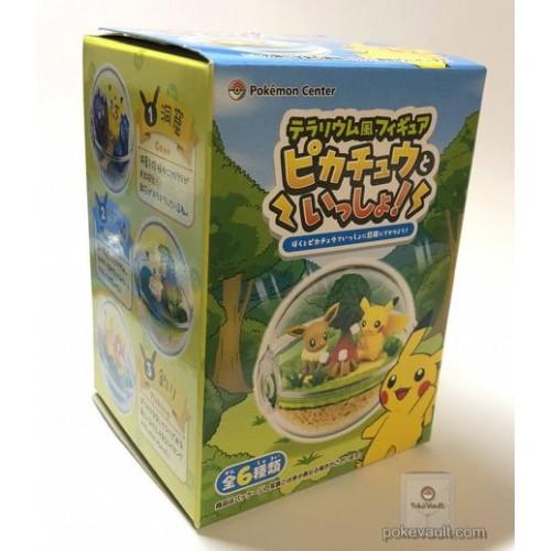 Pokemon Center 2018 Re-Ment Terrarium Collection With Pikachu Series RANDOM Figure