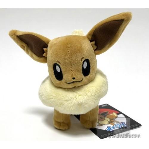 Pokemon Center 2018 Eevee Standing Plush Toy