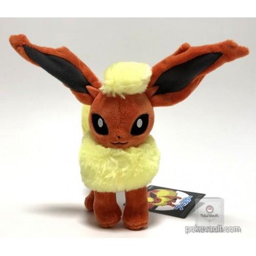 Pokemon Center 2018 Flareon Standing Plush Toy