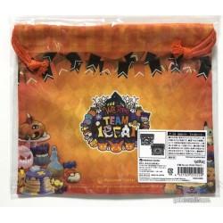 Pokemon Center 2018 Pokemon Halloween We Are Trick Or Treat Campaign Team Treat Sylveon Umbreon Eevee & Friends Medium Size Drawstring Dice Bag