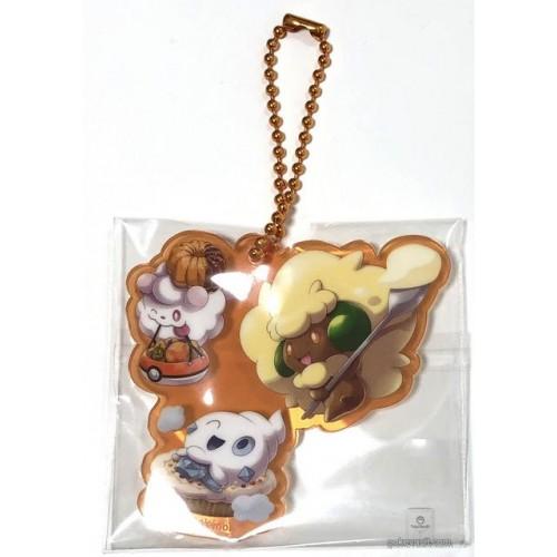 Acrylic Charm Key Chain #1 Pikachu Pokemon Center Halloween We Are TEAM TREAT