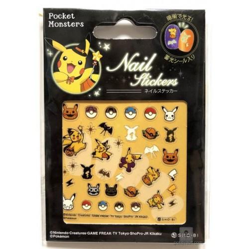 Pokemon Center 2018 Halloween Pikachu Nail Stickers