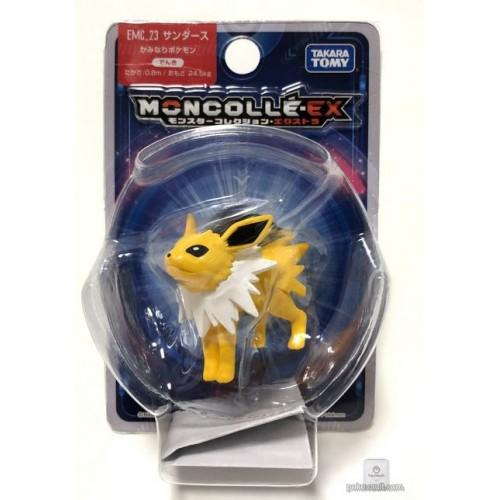 "Pokemon 2018 Jolteon Tomy 2"" Monster Collection Moncolle EX Plastic Figure EMC-23"