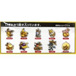 Pokemon Center 2018 Fan Of Pikachu & Eevee Campaign Gengar Pikachu Acrylic Keychain Charm (Version #7)