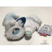 Pokemon Center 2018 Kuttari Series #7 Alolan Vulpix Bean Bag Plush Toy (Awake Version)