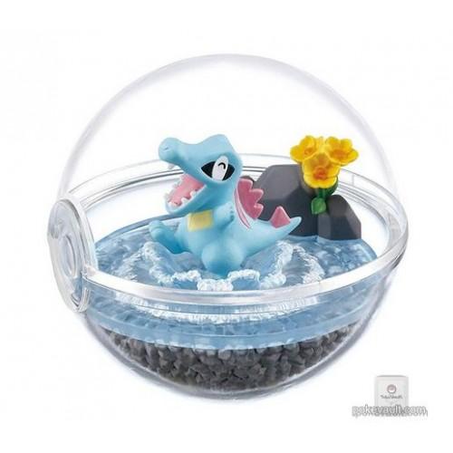 Pokemon Center 2018 Re-Ment Terrarium Collection Series #4 Totodile Figure (Version #2)