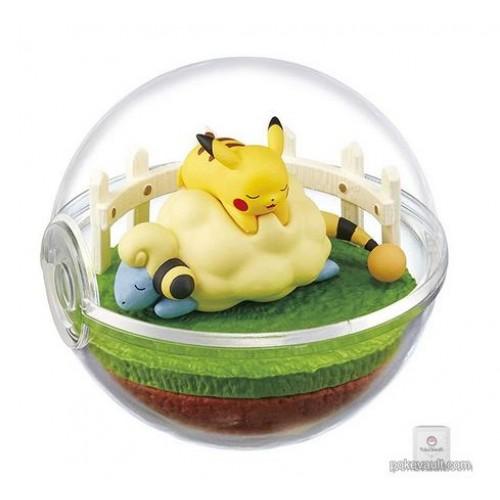Pokemon Center 2018 Re-Ment Terrarium Collection Series #4 Mareep Pikachu Figure (Version #5)