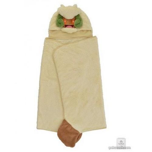 Pokemon Center 2018 Mofu-Mofu Paradise Campaign Whimsicott Hooded Towel Poncho