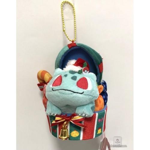 17a2dae4 Pokemon Center 2018 Christmas Campaign Bulbasaur Mascot Plush ...