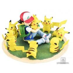 Pokemon Center 2018 G.E.M. Ash Ketchum Pikachu Figure