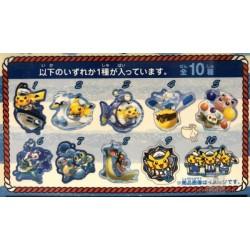 Pokemon Center Yokohama 2018 Renewal Opening Campaign Pikachu Acrylic Keychain Charm (Version #10)