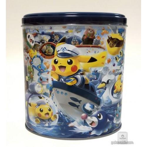 Pokemon Center Yokohama 2018 Renewal Opening Campaign Pikachu Vaporeon Lapras & Friends Cookie Crunch Collector Tin