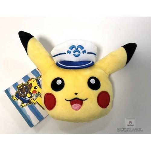 Pokemon Center Yokohama 2018 Renewal Opening Campaign Pikachu Plush Train Pass Case