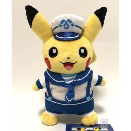 Pokemon Center Yokohama 2018 Renewal Opening Campaign Pikachu Plush Toy (Version #2)