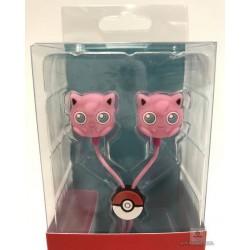 Pokemon Center 2018 Pop Color Campaign Jigglypuff Stereo Earphones