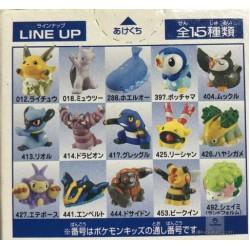 Pokemon 2008 Bandai Pokemon Kids Kimewaza DP1 Series Grotle Figure