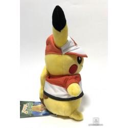 Pokemon Center 2018 Let's Go Pikachu & Eevee Campaign Pikachu Plush Toy (Version #3 Sportswear)