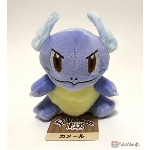Pokemon Center 2018 Pokemon Fit Series #2 Wartortle Small Plush Toy