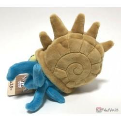 Pokemon Center 2018 Pokemon Fit Series #2 Omastar Small Plush Toy