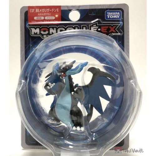 Pokemon 2018 Mega Charizard X Monster Collection Moncolle EX Super Size Plastic Figure ESP-08