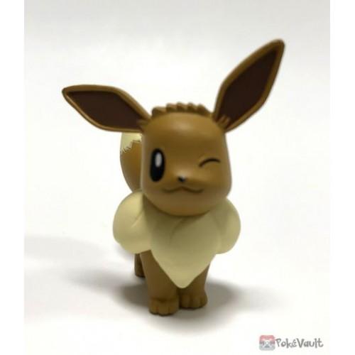 Pokemon 2018 Takara Tomy Eevee Ippai Collection Figure Series #2 (Version #1 Winking)
