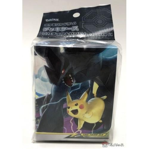 Pokemon Center 2018 SM#9 Tag Bolt Pikachu Zekrom Large Size Deck Box
