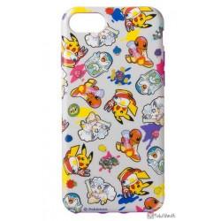 Pokemon Center 2018 Robo Pikachu Campaign Alolan Vulpix Piplup & Friends iPhone 6/6s/7/8 Mobile Phone Soft Cover (Version #1)