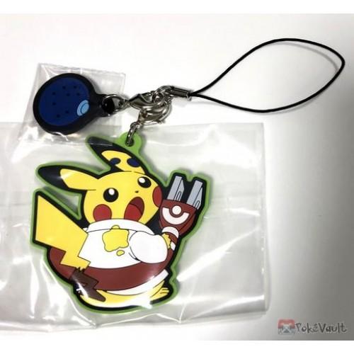 Pokemon Center 2018 Robo Pikachu Campaign Pikachu Rubber Strap (Version #2)
