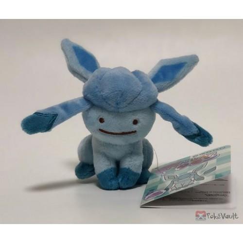 Pokemon Center 2018 Transform Ditto Campaign #7 Ditto Glaceon Mascot Plush Keychain